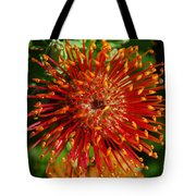 Gum Flower Tote Bag