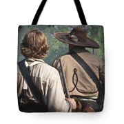 Guns By Our Side We Ride Tote Bag