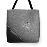 H-alpha Sun With Sunspots And Solar Tote Bag