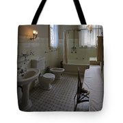 Haas Lilienthal House Victorian Bath - San Francisco Tote Bag by Daniel Hagerman