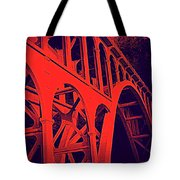 Haceta Head Bridge Tote Bag