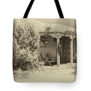 Hacienda Antique Plate Tote Bag