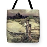 Hagar And Ishmael Tote Bag