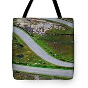 Hairpin Bends In The, Healy Pass, Beara Tote Bag