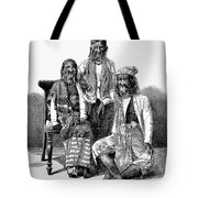Hairy Faced Burmese Family Tote Bag