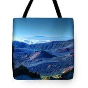 Haleakala Crater 1 Tote Bag by Ken Smith