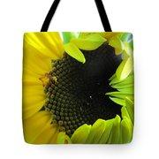 Half-bloom Beauty Tote Bag