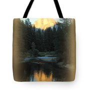 Half Dome At Sunset Tote Bag