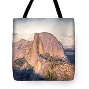 Half Dome Portrait Tote Bag