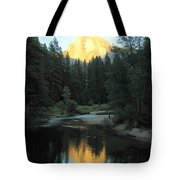 Half Dome Reflection Tote Bag