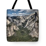 Half Dome Valley Tote Bag