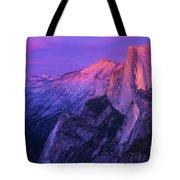 Half Purple Dome Tote Bag