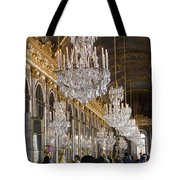 Hall Of Mirrors At Palace Of Versailles France Tote Bag