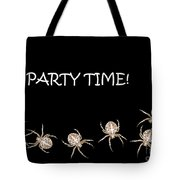 Halloween Greetings. Spider Party Series #01 Tote Bag