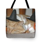 Halloween Party Animals Tote Bag