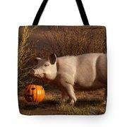 Halloween Pig Tote Bag