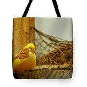 Halloween Yellow Bird Tote Bag