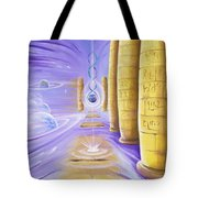 Halls Of Creation Tote Bag
