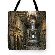 Hallway Eastern State Penitentiary  Tote Bag