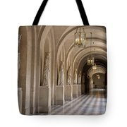 Hallway In Palace Of Versaille Tote Bag