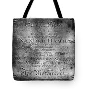 Hamilton: Pamphlet, 1797 Tote Bag