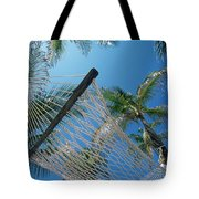 Hammock And Palm Tree, Great Barrier Tote Bag