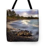 Hana Beach And Wave Tote Bag