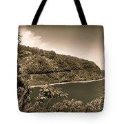 Hana Highway Sepia Tote Bag
