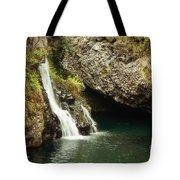 Hana Waterfall Tote Bag by Scott Pellegrin