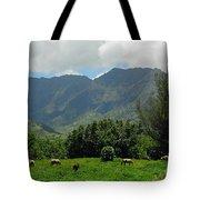 Hanalei Horses Tote Bag