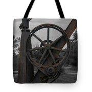 Hand Crane Tote Bag