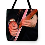 Sun In The Hands And Guitar Of Uli Jon Roth Tote Bag