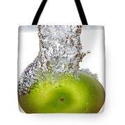 Handy Green Apple Tote Bag