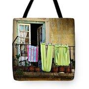 Hanged Clothes Tote Bag by Carlos Caetano