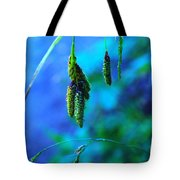 Hanging Green  Tote Bag