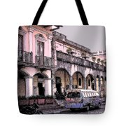 Hanging Out In Granada  Tote Bag