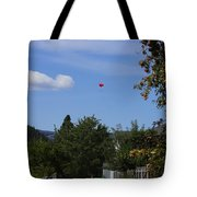 Hanging Out Over Midway Tote Bag