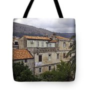 Hanging Out To Dry In Dubrovnik 1 Tote Bag