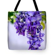 Hanging Purple Passion Tote Bag