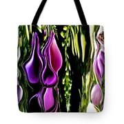Hanging Vine From Photo Of Digitalis 1 Per Gimp Tote Bag