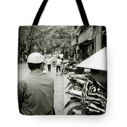 Hanoi In Vietnam Tote Bag