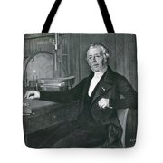 Hans Christian �rsted, Danish Physicist Tote Bag