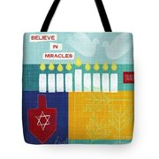 Hanukkah Miracles Tote Bag