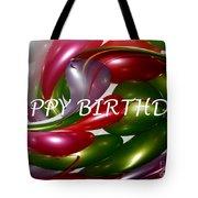 Happy Birthday - Balloons Tote Bag by Kaye Menner