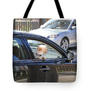 Happy Dog Tote Bag