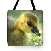 Happy Easter Gosling Tote Bag
