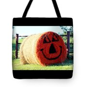 Happy Fall Face Tote Bag