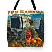 Happy Halloween Card Tote Bag