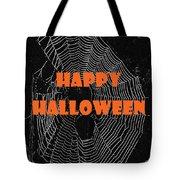 Happy Halloween Web  Tote Bag