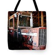 Happy Harvestor Tractor Tote Bag